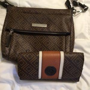 Liz Claiborne Purse and Matching Wallet